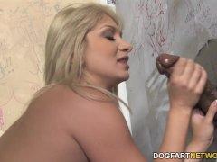 Lea Lexis Sucks Big Black Cock - Gloryhole