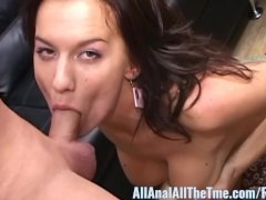 Sexy Tattoo Babe Karina Gets Ass Fucked for AllAnal!
