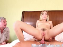 Hot blonde Haley Reed Cucks Her Step Dad AllAnal!