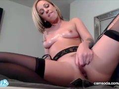 CamSoda - Jada Stevens Big Ass Anal Play and Masturbation