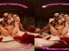 VRBangers Christmas Orgy With Abella Danger And Her 7 Sexy Elves VR Porn