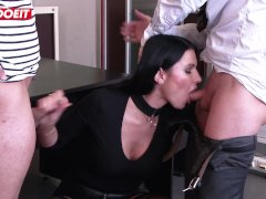 LETSDOEIT - Hot Milf Teacher Ania Kinsky Ass Abused At The Academie