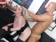 LETSDOEIT - Kinky Italian Mom Takes a Thick Cock In Her Ass