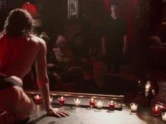 Jessica Biel - Powder Blue striptease