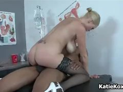 Katie Kox enjoys riding cock