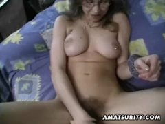 hairy pussy needs a trim then a pounding