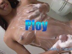 Soapy shemales ladyboy massage