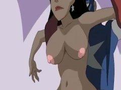 Southpark porn and Superheroes sex
