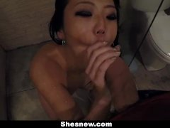 Asian Teen Miko Dai Has Sex In The Shower