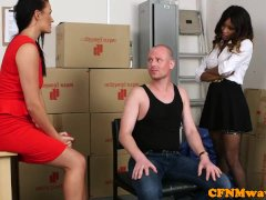 Mean Female Domination Gang Joy With Kiki Minaj