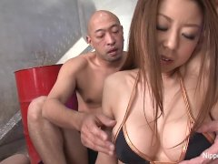 A Gang Banged, Cum Filled Hairy Pussy