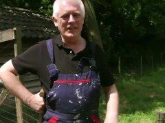 Viril Old Man Bonks His Next Door Sweet Stunner