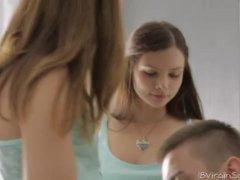 18 Year Older Gets Her Vulva Licked