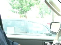 Hot Cougar Desi Foxx Gets A Facial