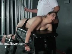 Hellpain whipping and feet spanking of punish