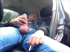 Wank And Cum In a Rest Area