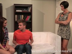 Wicked - Scorching Cougar Showcases Teenager Duo What To D