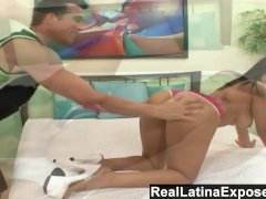 RealLatinaExposed  Busty Latina Babe Gets