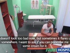 Fakehospital Stud Cums Over Nurses Stomach
