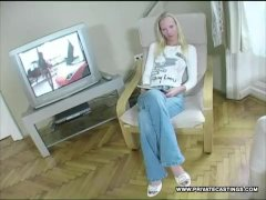 Gitta Ash-blonde Does Buttfuck In Her Very First Casting