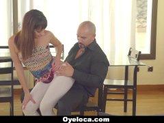 Oyeloca - Latina Seduced and Fucked by Horny