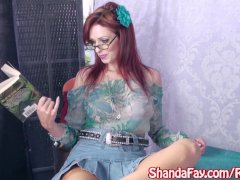 Shanda Fay Receives A Hefty Manstick Surprise!
