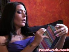 Hot Psychic Puma Swede Plumbs Her Molten Client!