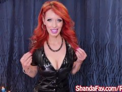 Kinky Cougar Shanda Fay Receives Employed For A Pegging!