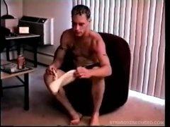 Gay Fuck-fest With Heterosexual Guy Buzz