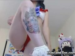 Anime Sailor Moon Costume Play Chick On Cam