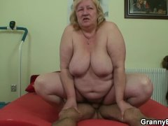 Horny Dude and Huge Titted Granny Games