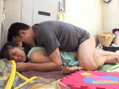 Gorgeous Rin Aoki Sucks Fat Guy In The Bathroom Cum In Mouth Then Spits