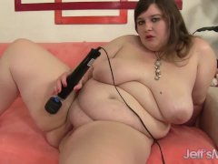 Lovely  Horny Fatty Performs With Intercourse Toys