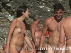 Nudist video at the beach