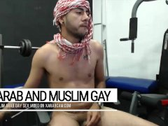 Arab wild sex for gay men only: hot Middle Eastern show man