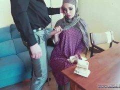 Arab  Attractive Woman Warm Hairy Teenager Masturbating
