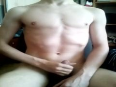 Young Attractive Boy Cums Two Times