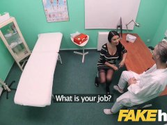 Fake Hospital Big Boobies Grind Babe Ania Kinski Loves Swallowing Medics Cum
