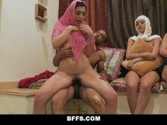 BFFS - Hot Slutty Muslim Teens Break Cultural Norms