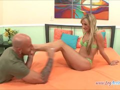 Amy Brooke Bj's Her Toes And A Cock