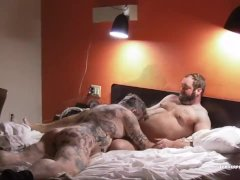 Topher And Zev Piss And Fuck Raw