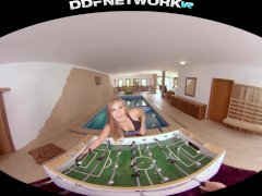 Get Your Vr Gear Prepped & Watch Spa Stunner Vyvan Hill Rail Your Manstick In Pov