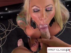 FirstClassPOV - Lolly Ink fucking a monster cock, bubble butt & big tits