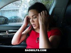 BadMILFS - Sucking Her Employees Boyfriend Off