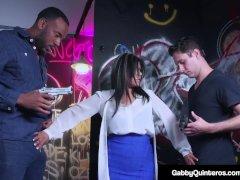 Meximilf Gabby Quinteros & Vyxen Metal Gangbanged!