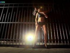 Hot Euro Honey Sandra Romain Innovative Taunt And Crazy Restrain Bondage Solo Video