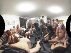 Biggest Home Swingers Party in 180° VIRTUAL REALITY