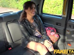 Fake Cab Monstrous Mind-blowing Spanish Butt Juggles As Taut Cooter Pounded In Cab
