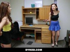 Dyked - Hot Lesbian College Girls Fuck