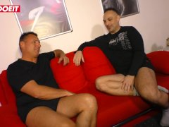 Letsdoeit - German Unexperienced Swinger Shares Wife With His Step Brother